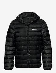 Champion - Hooded Jacket - vestes de sport - black beauty  al (nbk) - 0