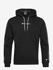Champion - Hooded Sweatshirt - basic sweatshirts - black beauty - 0