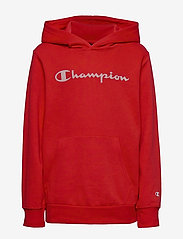 Champion - Hooded Sweatshirt - hoodies - high risk red - 0