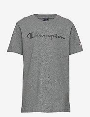 Champion - Crewneck T-Shirt - short-sleeved t-shirts - graphite grey melange jasp - 0