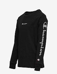 Champion - Long Sleeve Crewneck T-Shirt - long-sleeved t-shirts - sky captain - 2