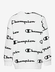 Champion - Crewneck Sweatshirt - sweatshirts - white al (wht) - 1