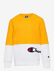 Champion - Crewneck Sweatshirt - sweatshirts - spectra yellow - 0