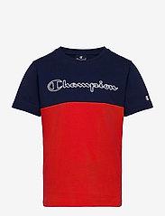 Champion - Crewneck T-Shirt - short-sleeved t-shirts - medieval blue - 0
