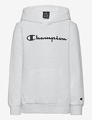 Champion - Hooded Sweatshirt - kapuzenpullover - white - 0