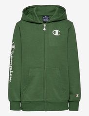 Champion - Hooded Full Zip Sweatshirt - kapuzenpullover - greener pastures - 0