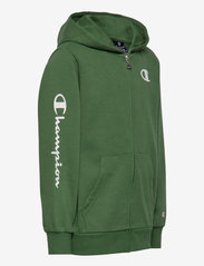 Champion - Hooded Full Zip Sweatshirt - kapuzenpullover - greener pastures - 2