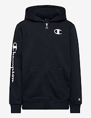Champion - Hooded Full Zip Sweatshirt - kapuzenpullover - sky captain - 0