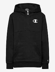 Champion - Hooded Half Zip Sweatshirt - kapuzenpullover - black beauty - 0