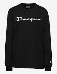 Champion - Long Sleeve T-Shirt - sweatshirts - black beauty - 0