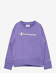 Champion - Crewneck Sweatshirt - sweatshirts - aster purple - 0