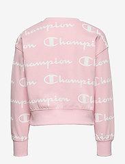 Champion - Crewneck Croptop - sweatshirts - parfait pink al - 1