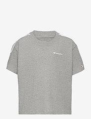 Champion - Crop Top - short-sleeved - gray melange light - 0