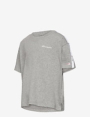 Champion - Crop Top - short-sleeved - gray melange light - 2
