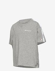 Champion - Crop Top - short-sleeved - gray melange light - 3
