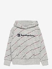 Champion - Hooded Sweatshirt - kapuzenpullover - new oxford grey melange al (noxm) - 0