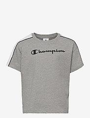 Champion - Crewneck T-Shirt - short-sleeved - gray melange light - 0