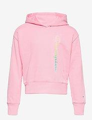 Champion - Hooded Sweatshirt - sweatshirts - candy pink - 0
