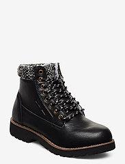 Champion - High Cut Shoe UPSTATE - tasapohjaiset nilkkurit - black beauty - 0