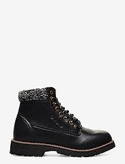 Champion - High Cut Shoe UPSTATE - tasapohjaiset nilkkurit - black beauty - 1
