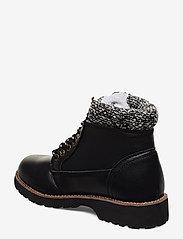 Champion - High Cut Shoe UPSTATE - tasapohjaiset nilkkurit - black beauty - 2