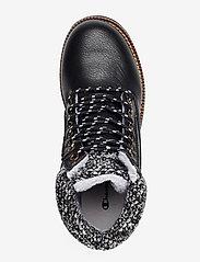 Champion - High Cut Shoe UPSTATE - tasapohjaiset nilkkurit - black beauty - 3