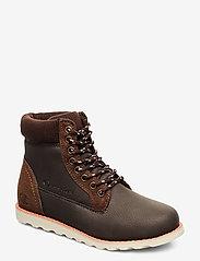 Champion - High Cut Shoe UPSTATE B GS - saappaat - brown - 0