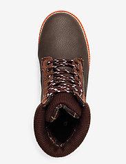 Champion - High Cut Shoe UPSTATE B GS - saappaat - brown - 3