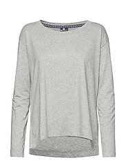 Long Sleeve T-Shirt - OXFORD GREY