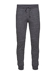 Rib Cuff Pants - NEW CHARCOAL GREY MELANGE DARK