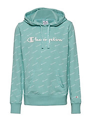 Hooded Sweatshirt - AQUA HAZE AL (AHZ)