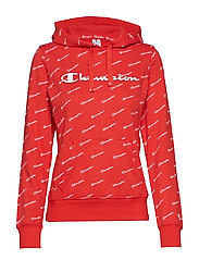 Hooded Sweatshirt - FLAME SCARLET AL (FLS)