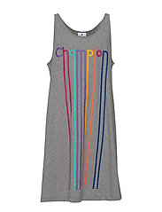 Dress - GRAY MELANGE LIGHT