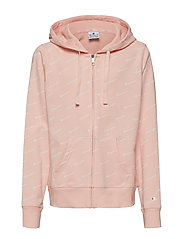 Hooded Full Zip Sweatshirt - IMPATIENS PINK AL (IMP)