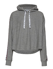 Hooded Sweatshirt - GRAY MELANGE LIGHT