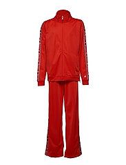 Full Zip Suit - FLAME SCARLET