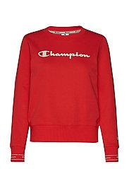 Crewneck Sweatshirt - POPPY RED