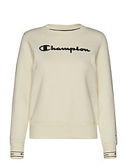 Crewneck Sweatshirt - WHITE ASPARAGUS