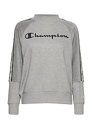 Crewneck Sweatshirt - GRAY MELANGE LIGHT