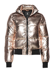 Bomber Jacket - LIGHT ROSE GOLD