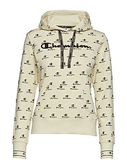 Hooded Sweatshirt - WHITE ASPARAGUS AL (WAG)