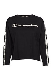 Long Sleeve T-Shirt - BLACK BEAUTY