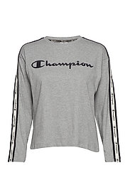 Long Sleeve T-Shirt - GRAY MELANGE LIGHT