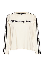 Long Sleeve T-Shirt - WHITE ASPARAGUS
