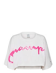 Crewneck T-Shirt - WHITE