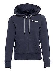 Hooded Full Zip Sweatshirt - SKY CAPTAIN
