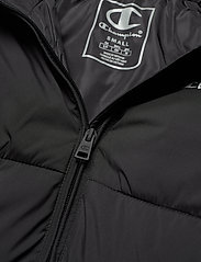 Champion - Hooded Polyfilled Jacket - trainingsjacken - black beauty - 3