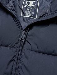 Champion - Hooded Polyfilled Jacket - kurtki sportowe - sky captain - 3