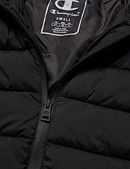 Champion - Hooded Polyfilled Jacket - parkas - black beauty - 4