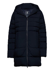 Hooded Polyfilled Jacket - SKY CAPTAIN